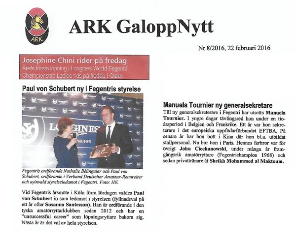 ARK-GaloppNytt